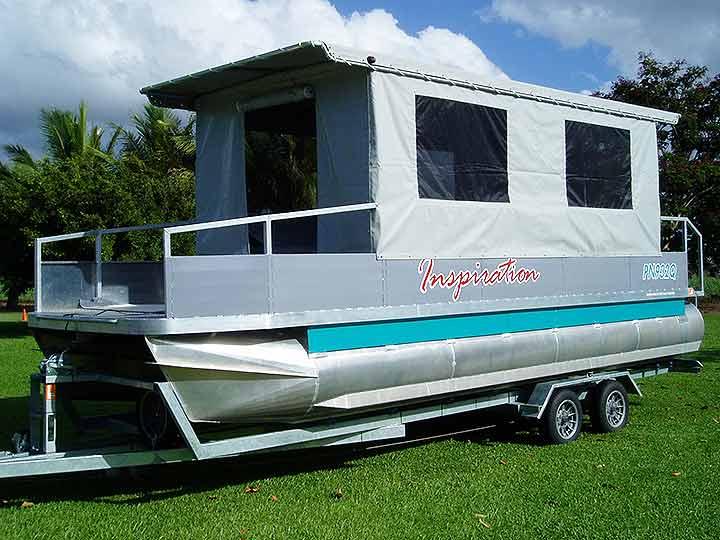 Custom barge