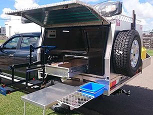 Fitted out canopy