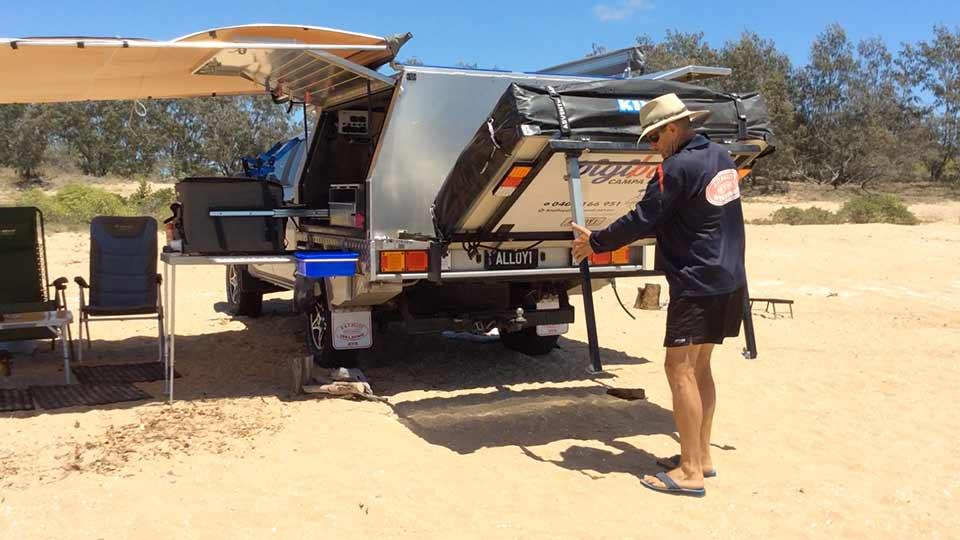 Pigibak Campa Frame setup step 3