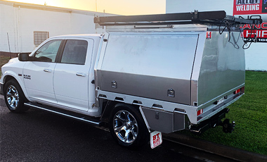 Ute Canopy by BT ALLOY